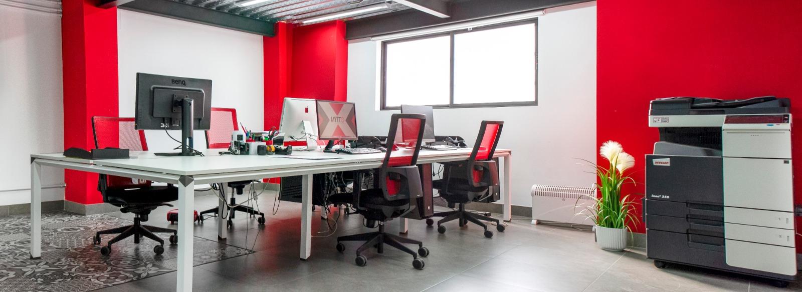 Interior Oficinas de MYTTO Agencia de Comunicación y Marketing
